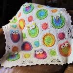 örgü bebek battaniyeleri ve yapılışı 3