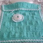 en güzel örgü bebek battaniye örnekleri 2