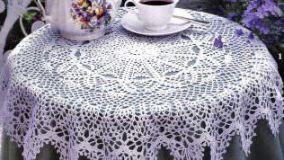 Fiskos Masası Dantel Örtüleri 2013