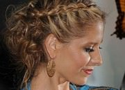 topuz örgü saç modelleri