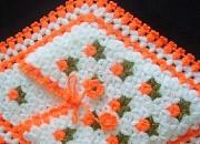 turuncu çiçekli lif örnekleri