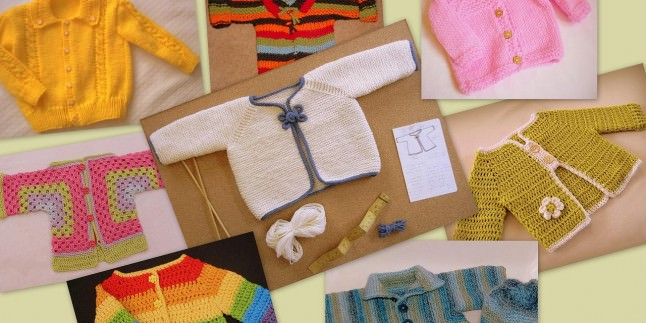 Bebek Hırka Modelleri ve Yapılışı