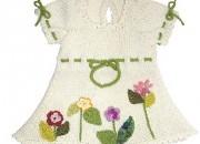 Kız bebek çiçekli elbise örnekleri
