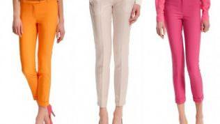 Yeni Sezon Yazlık Pantolon Modelleri 2013