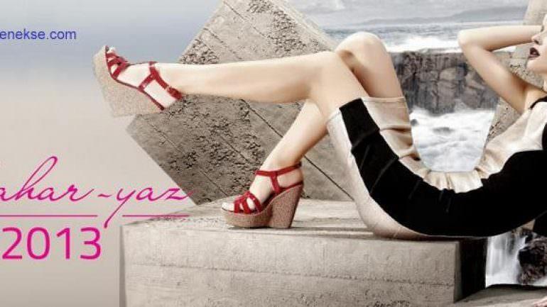 Kemal Tanca Bayan Yazlık ayakkabı Modelleri 2019