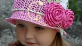 Örgü Bebek Şapka Modelleri ve Yapılışı