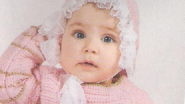 Fırfırlı Örgü Bebek Şapka Örneği ve Yapılışı