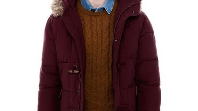 2013 2014 Pull&Bear Erkek Mont modelleri