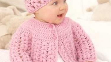 Bebek Örgü Hırka Modelleri