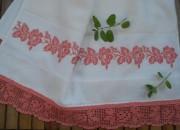 kanaviçe havlu kenarı örneği