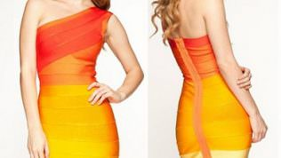 2014 Bandaj Elbise Modelleri