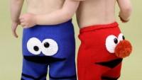Bebek Örgü Pantolon Modelleri