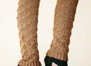 Örgü Bot Çorapları