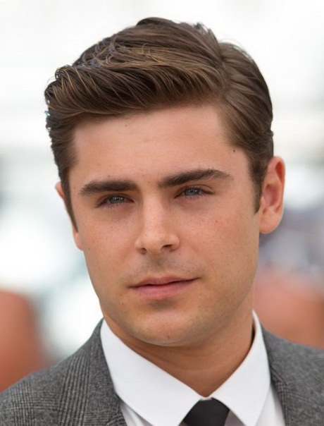 Erkekler İçin Düz Kısa Saç Modelleri