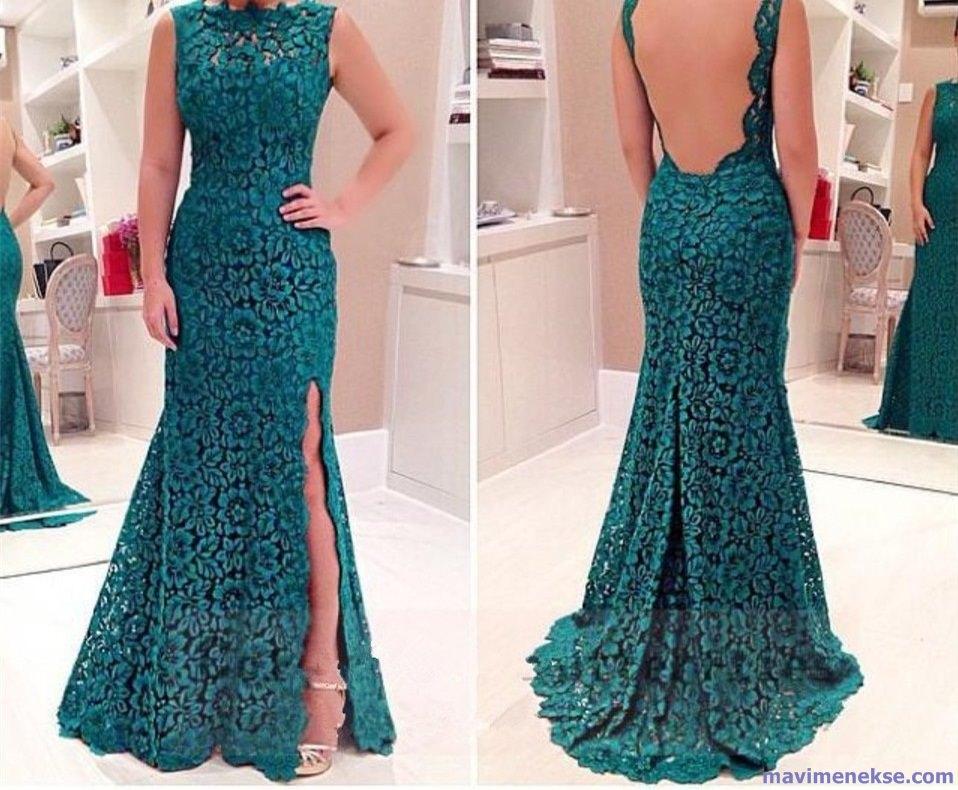 Вечерние платья в пол кружевные