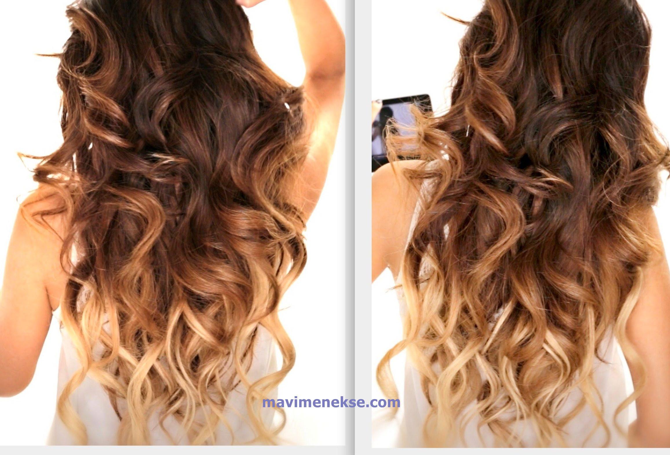 kat kat ombre saç rengi