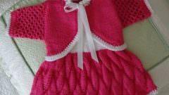 Örgü Kız Bebek Elbiseleri Örnekleri Modelleri Yapılışı