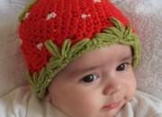 Kırmızı Bebek Beresi Örnekleri Modelleri Anlatımlı Açıklamalı Yapılışı