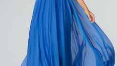 Saks Mavisi Abiye Elbise Modelleri