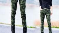Bayan Kamuflaş Askeri Pantolon Modelleri