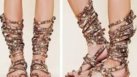 Gladyatör Sandalet Modelleri Kadın