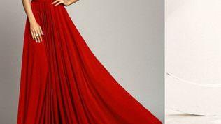 Kiremit Rengi Elbise Modelleri