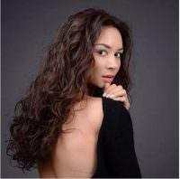 Hafif Permalı Uzun Saç Modeli