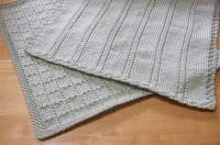 2018 Erkek çocuk gri örgü battaniye modeli