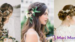 2019 Düğün Ve Kına Gecesi İçin Saç Modelleri