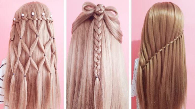 Örgülü Maşa Saç Modelleri