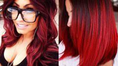 Çilek Kızılı Saç Rengi