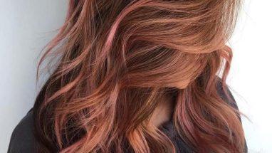 Altın Kahve Saç Rengi