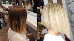 Platin Saç Rengi Röfle
