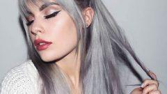 Metalik Gri Saç