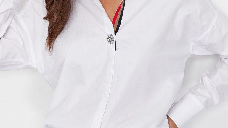 Kot Pantolon Beyaz Gömlek Kombinleri